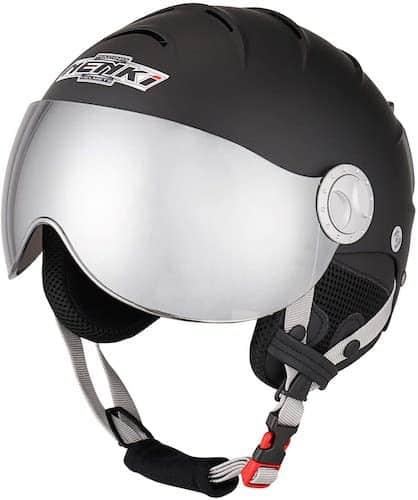 Nenki Ski Helmet With Visor