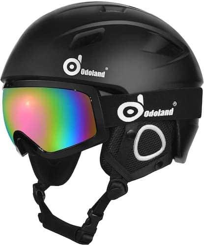 Odoland Ski Helmet With Visor